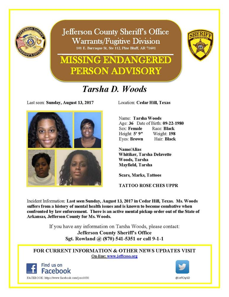MISSING ENDANGERED PERSON-Tarsha Woods 8-14-2017.jpg