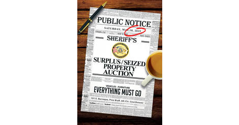 Sheriff Sales - Jefferson County Sheriff AR